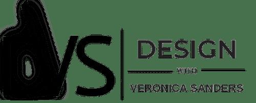 Design with Veronica Sanders logo