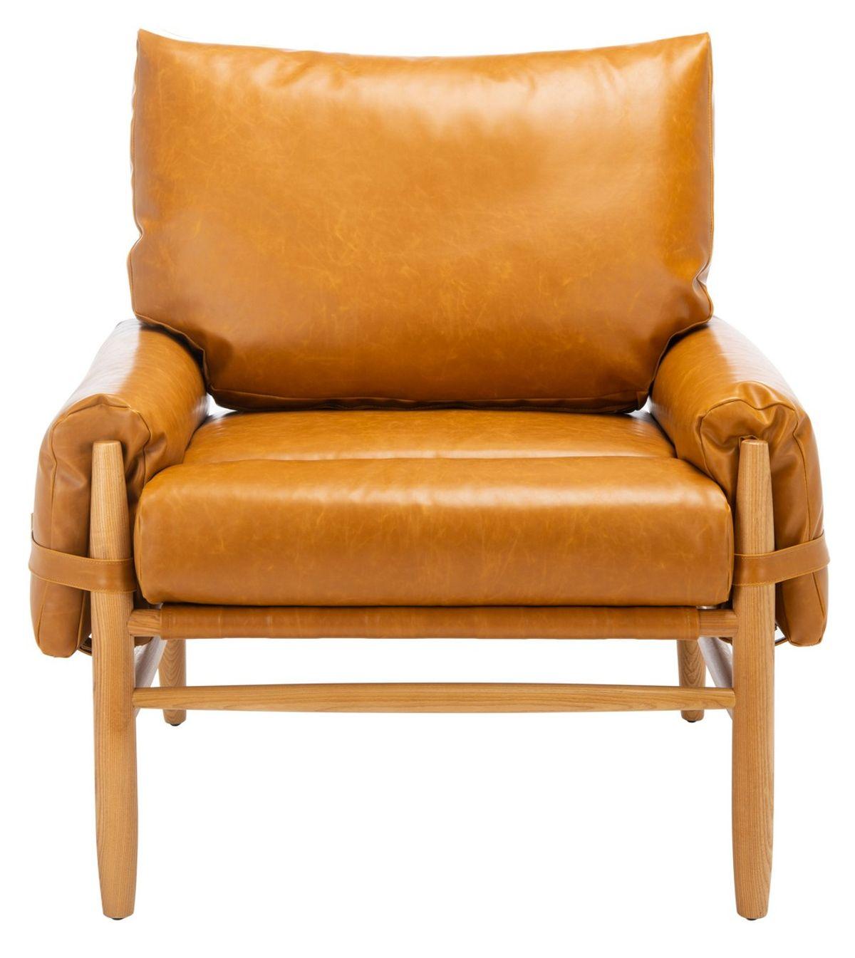 "Oslo Mid Century Arm Chair, 34.65"" X 37.09"""