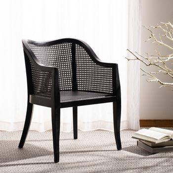 """Maika Dining Chair, 23.62"""" X 32.68"""", Black"""