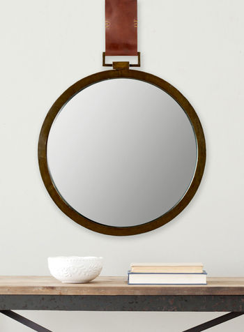 """Time Out Mirror, 21"""" X 21"""""""