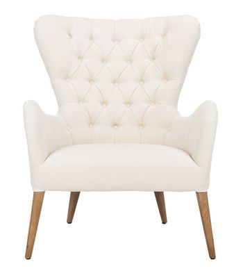 "Brayden Contemporary Wingback Chair, 31.5"" X 39.6"""