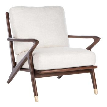 "Killian Mid-Century Accent Chair, 31.49"" X 33.46"""