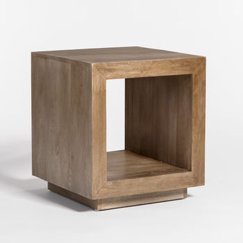 Chicago End Table In Light Ash