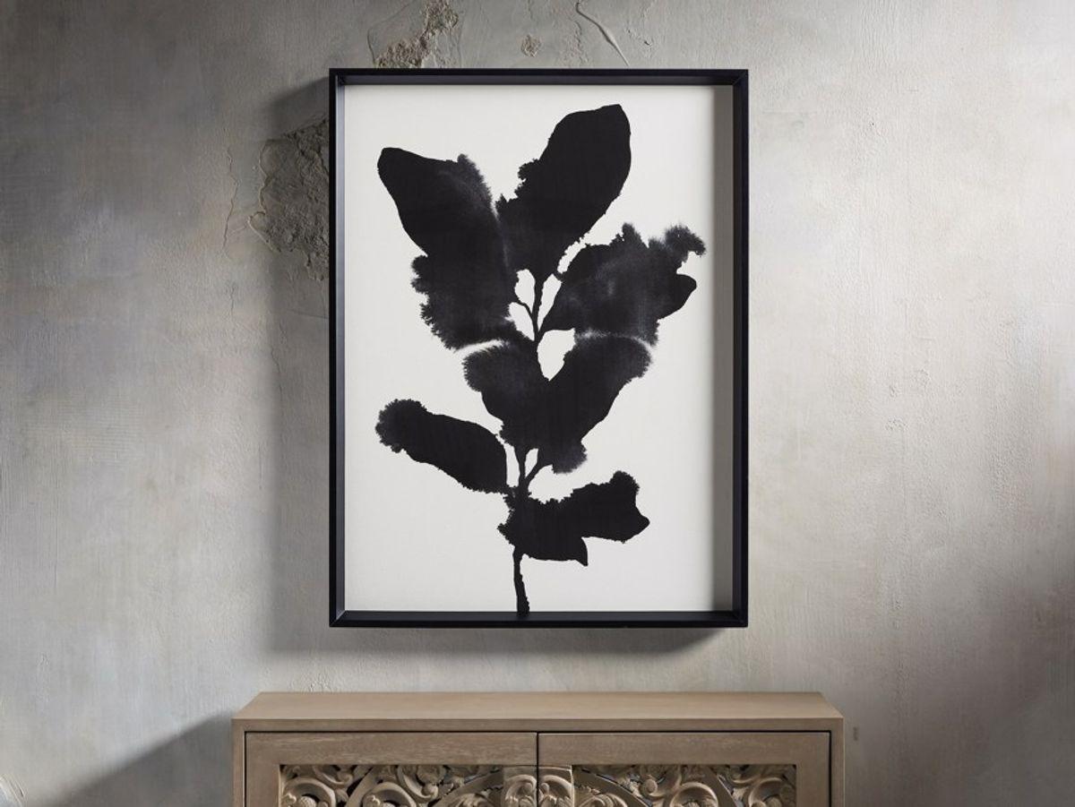 """Weeping Botanical 24"""" Framed Print 1"""