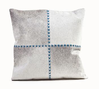 "Cushion Cowhide Giselle 20"" Provincial"