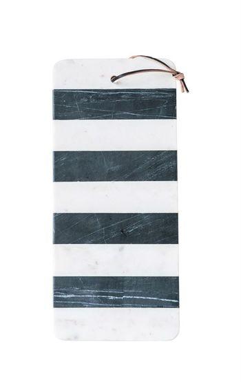 Marble Board W/ Leather Tie