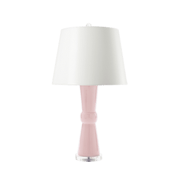Clarissa Lamp, Blush