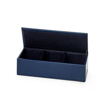 Hunter Pin/ Clip Box, Navy Blue