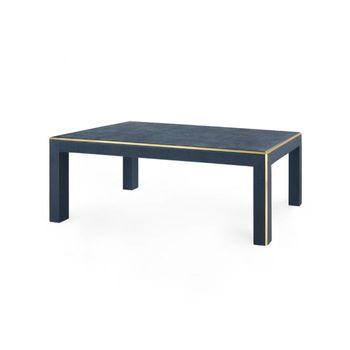 Lauren Coffee Table, Navy Blue