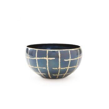 Loom Medium Bowl, Black