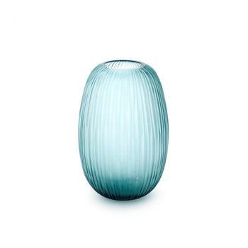 Moderni Small Vase, Gray Blue