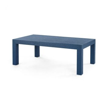 Parsons Coffee Table, Navy Blue