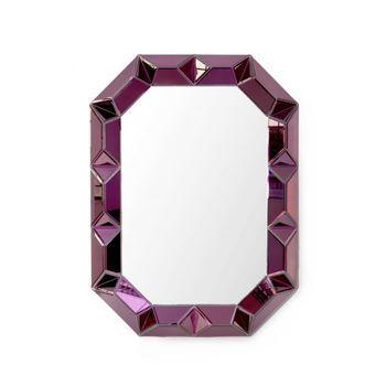 Romano Wall Mirror, Amethyst