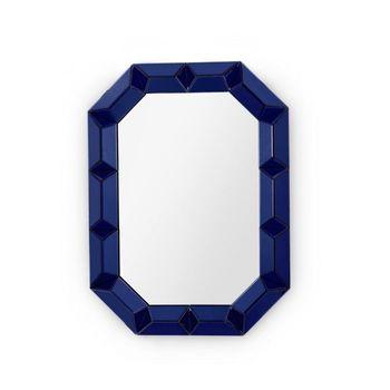 Romano Wall Mirror, Sapphire Blue