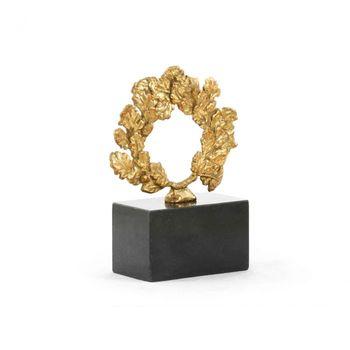 Wreath Statue, Gold
