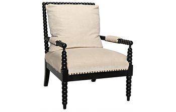 Bobbin Chair, Mahogany