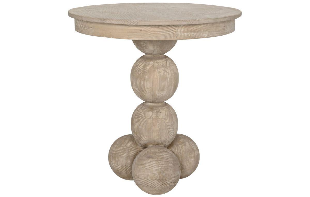 Reclaimed Lumber Allium Side Table