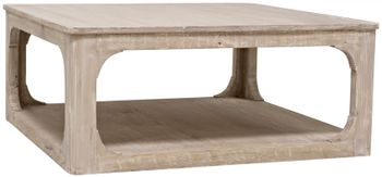 Reclaimed Lumber Gimso Coffee Table, Square