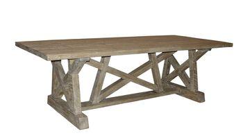Reclaimed Lumber Pentagon Dining Table