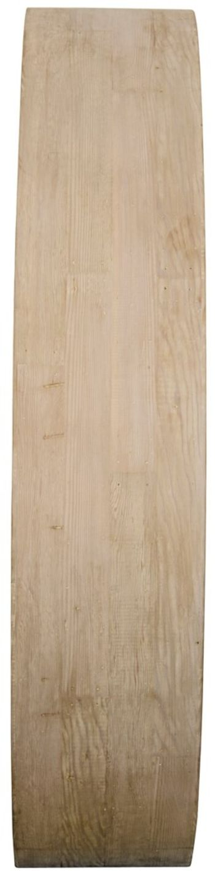 Roll Around Mirror W/ Reclaimed Lumber Frame