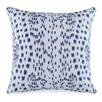Les Touches Embroidered Pillow