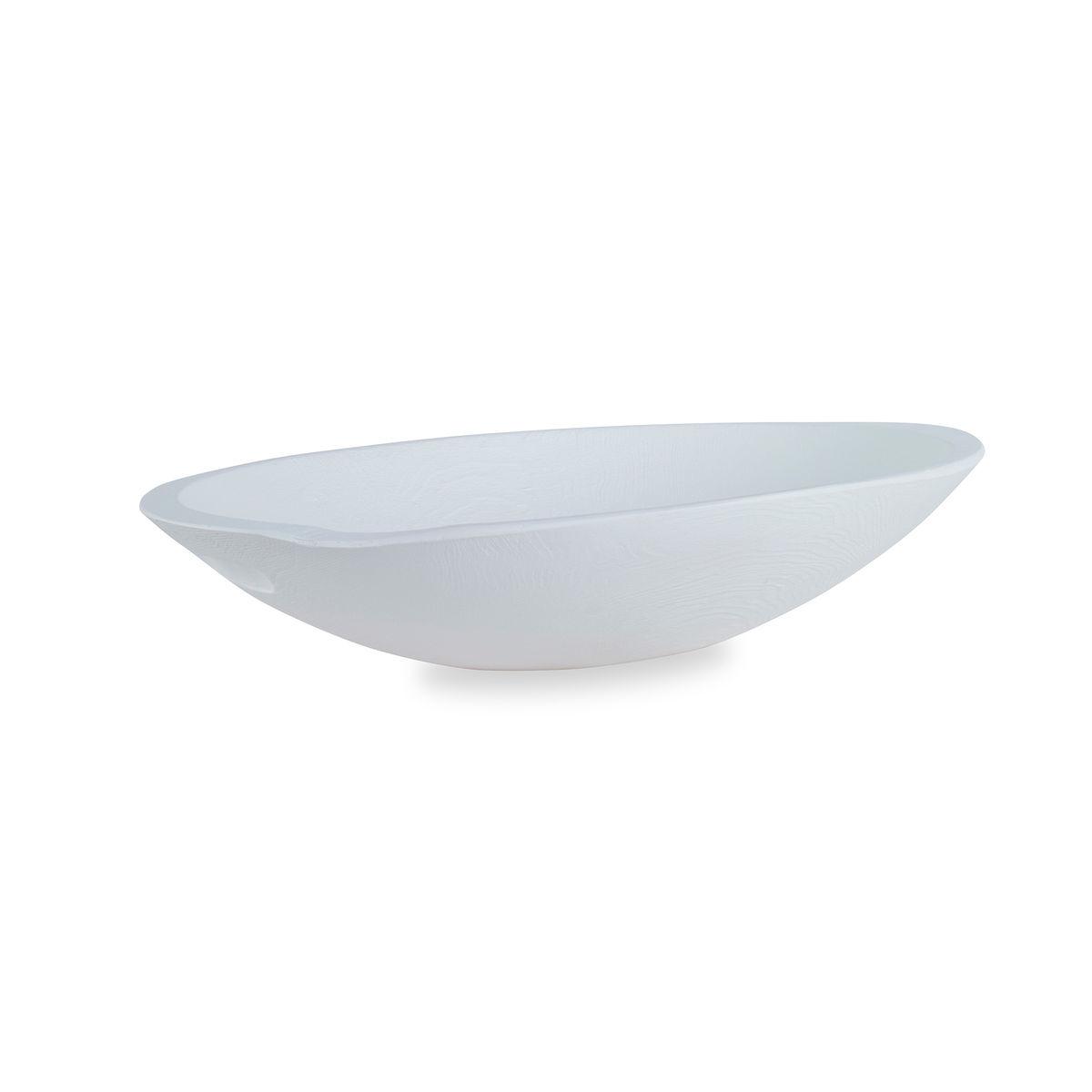 Levain Dough Bowl, White