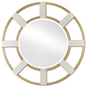 Camille Round Mirror