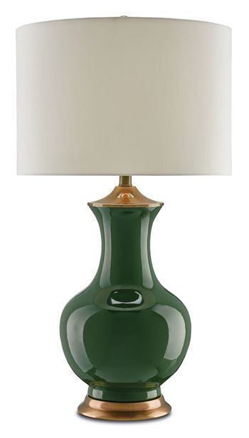 Table Lamp - Green