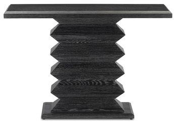 Sayan Black Console Table