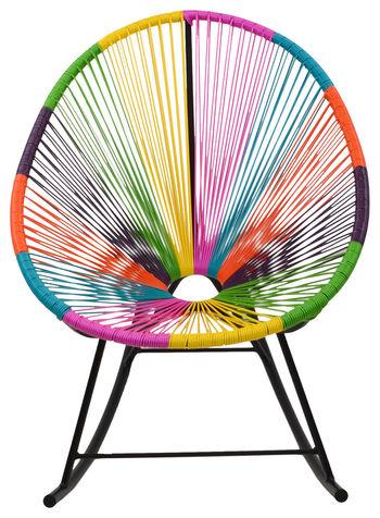 Acapulco Rocking Chair, Multi-Color