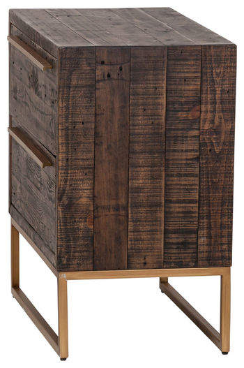 Leon Two Drawer Nightstand