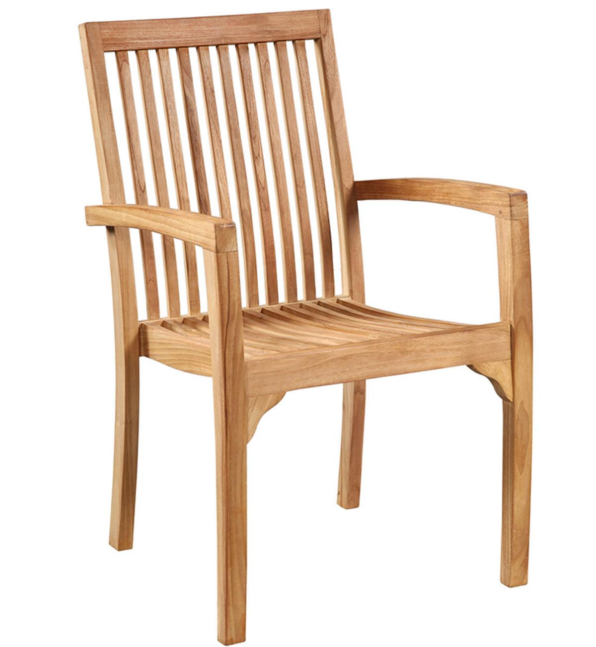 Teak Arm Chair - Outdoor