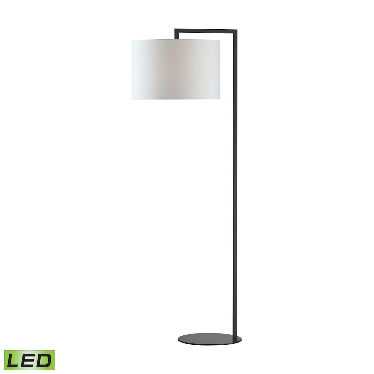 Bronze Stem Floor Lamp - Led