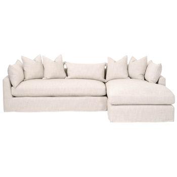 "Haven 110"" Rf Lounge Slipcover Sofa"