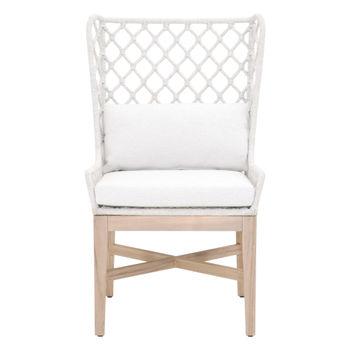 Lattis Outdoor Wing Chair
