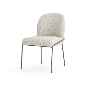 Astrud Dining Chair-Lyon Pewter