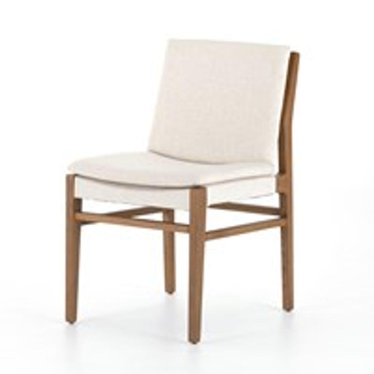 Aya Dining Chair- Natural Brown