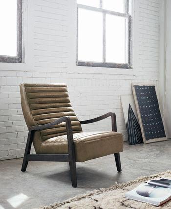 Chance Chair-Warm Taupe Dakota