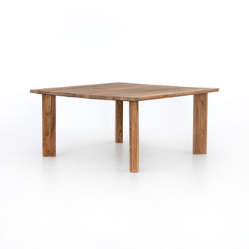 Kimball Square Dining Table-Natural Recl