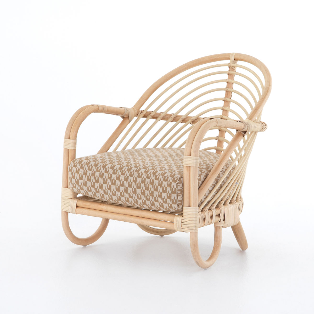 Marina Chair, Natural Rattan