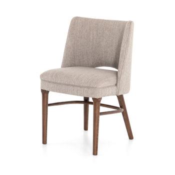 Myra Dining Chair-Savile Flannel/Almond