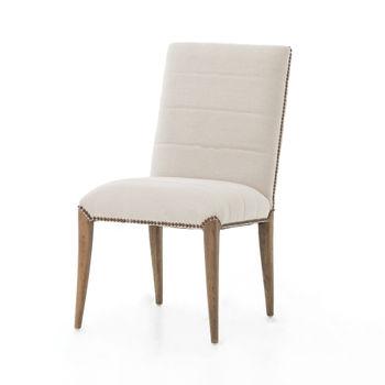 Nate Dining Chair-Dark Linen