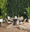 Portia Outdoor Dining Chair-Vintage Whit