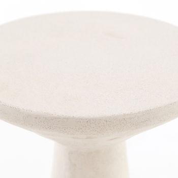 Ravine Concrete Accent Tables, Set Of 2