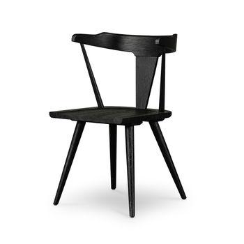 Ripley Dining Chair-Black Oak