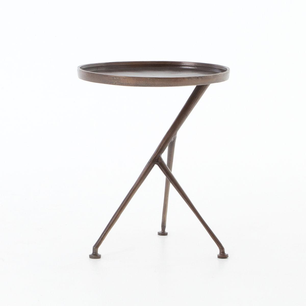 Schmidt Accent Table-Antique Rust