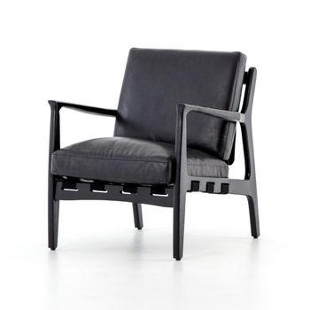 Silas Chair-Aged Black