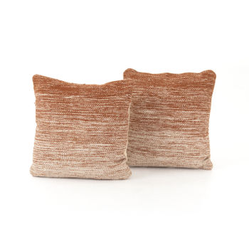 """Tawny Ombre Pillow, Set Of 2-20"""""""