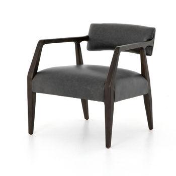 Tyler Arm Chair-Chaps Ebony