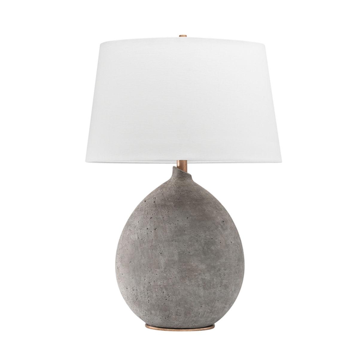 Denali Table Lamp, Gray